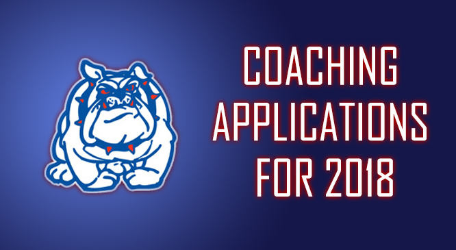 Coaching Applications For 2018